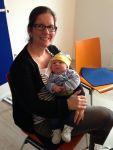 Bild 0 für Tess und Tobias Mutter zu Besuch im Jugendwerk